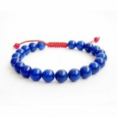 8MM lazuli Bracelet Stretchy Buddhism Lucky yoga Stretchy Gemstone Spirituality
