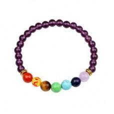 Amethyst Stones Chakra bracelets