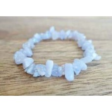 Aquamarine Tumbled Stone Healing Raw Beads Reiki Yoga Natural Gemstone Bracelet
