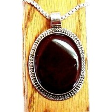 Bali Handcrafted CARNELIAN Solid Sterling Silver Pendant