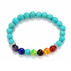 Bohemian Turquoise Beaded Bracelet
