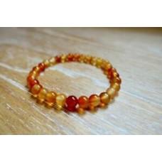 Creativity Stone Carnelian Bracelet Chakra Crystal Healing Natural Quartz