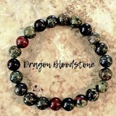 DRAGON BLOODSTONE Bracelet AAA Grade Natural Stone Healing Crystal Bracelet