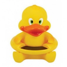 Duck Pattern Baby Bath Floating Toy Tub Thermometer