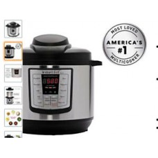 Instant Pot LUX60V3 V3 6 Qt 6-in-1 Multi-Use Programmable Pressure Cooker, Slow