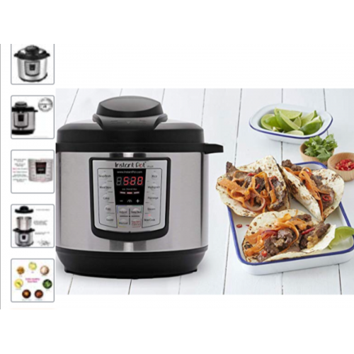 Instant Pot LUX60V3 V3 6 Qt 6-in-1 Multi-Use Programmable Pressure Cooker, Slow