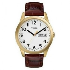 "New Timex Men's T2N065 ""Elevated Classics"" Watch with Brown Leather Band"