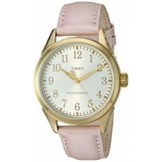 New Timex Women's Briarwood Terrace Pink Leather Strap Watch TW2P99100