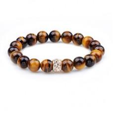 Tigereye Set Auger Hand Made Beaded Bracelet