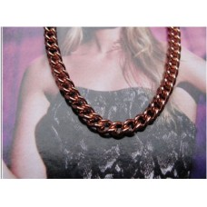 Solid Copper Chain Necklace - 1/8 of an inch wide