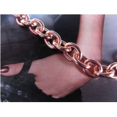 Ladies 7 Inch Solid Copper Bracelet - 5/16 of an inch wide