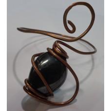 Hematite Copper Wire Bracelet