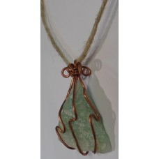 Green Aventurine Copper Wrap