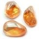 Tangerine Quartz Pieces