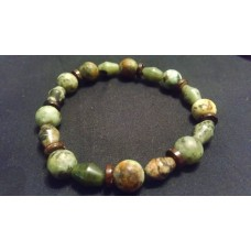 African Turquoise Jade Bracelet