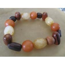 Jade Buri Seed Wood Bracelet