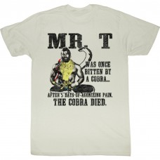 MR. T  COBRA DIED