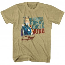 MISTER ROGERS  FRIEND UNCLE KING
