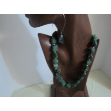 Zoisite gemstone, 18""